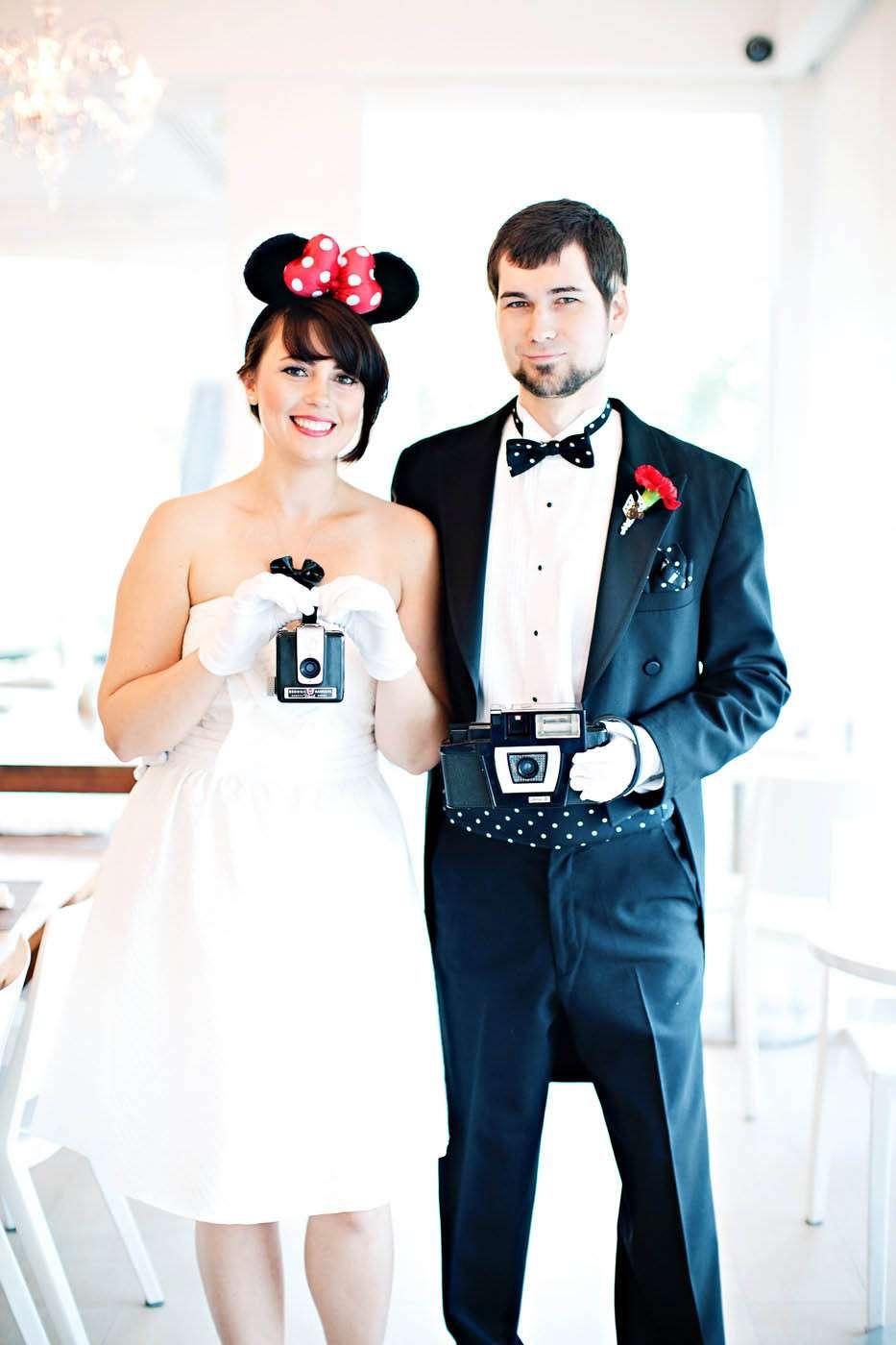 Retro Disney Wedding Inspiration · Rock n Roll Bride