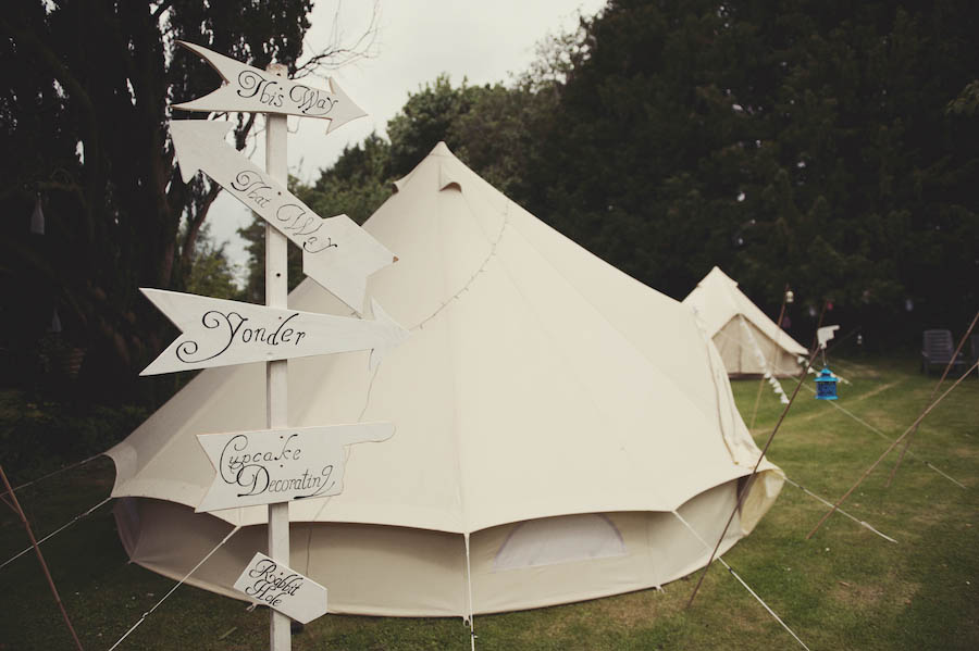 A diy glamping wedding a bride with pink hair josie for Glamping ideas diy
