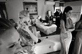 Getting Ready Bridesmaids Tear FIONA CLAIR PHOTOGRAPHY