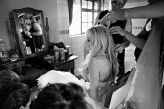 Getting ready Sarah in Hair FIONA CLAIR PHOTOGRAPHY