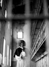 ghostly prison bridal shoot 21