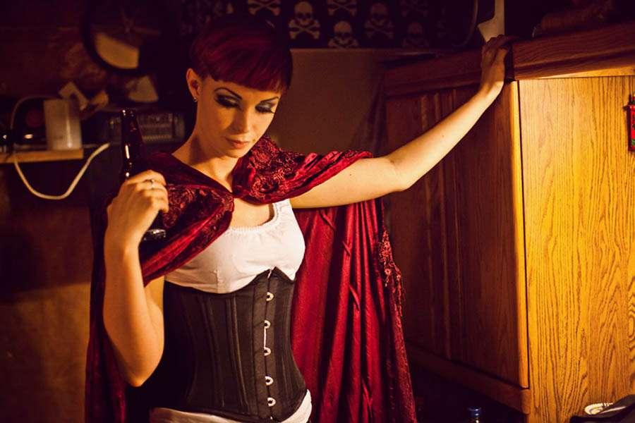 Red Gothic Wedding Dress 48 Fabulous jessshields photographer gothic wedding