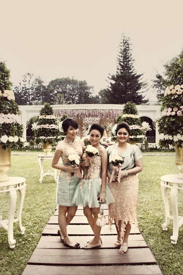 An 18th century marie antoniette inspired indonesian wedding cindy am - Marie france bandung ...