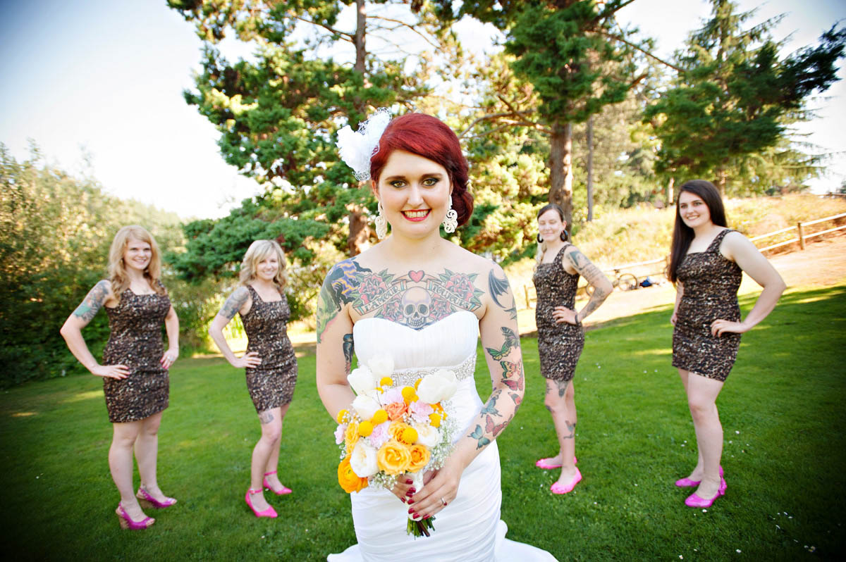 Leopard print rock n roll bride page 2 the wedding ombrellifo Image collections