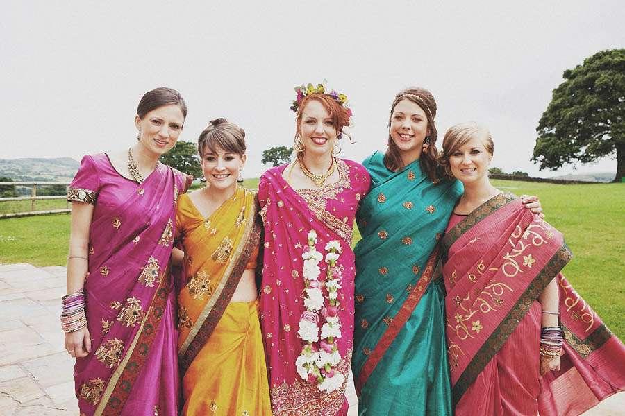 content hindu wedding guest