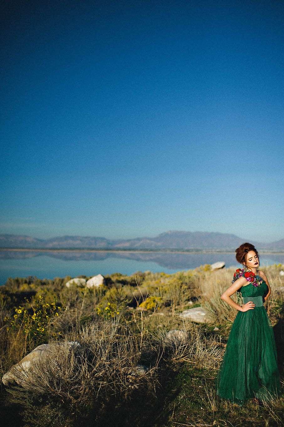 Green Dress · Rock n Roll Bride · Page 3