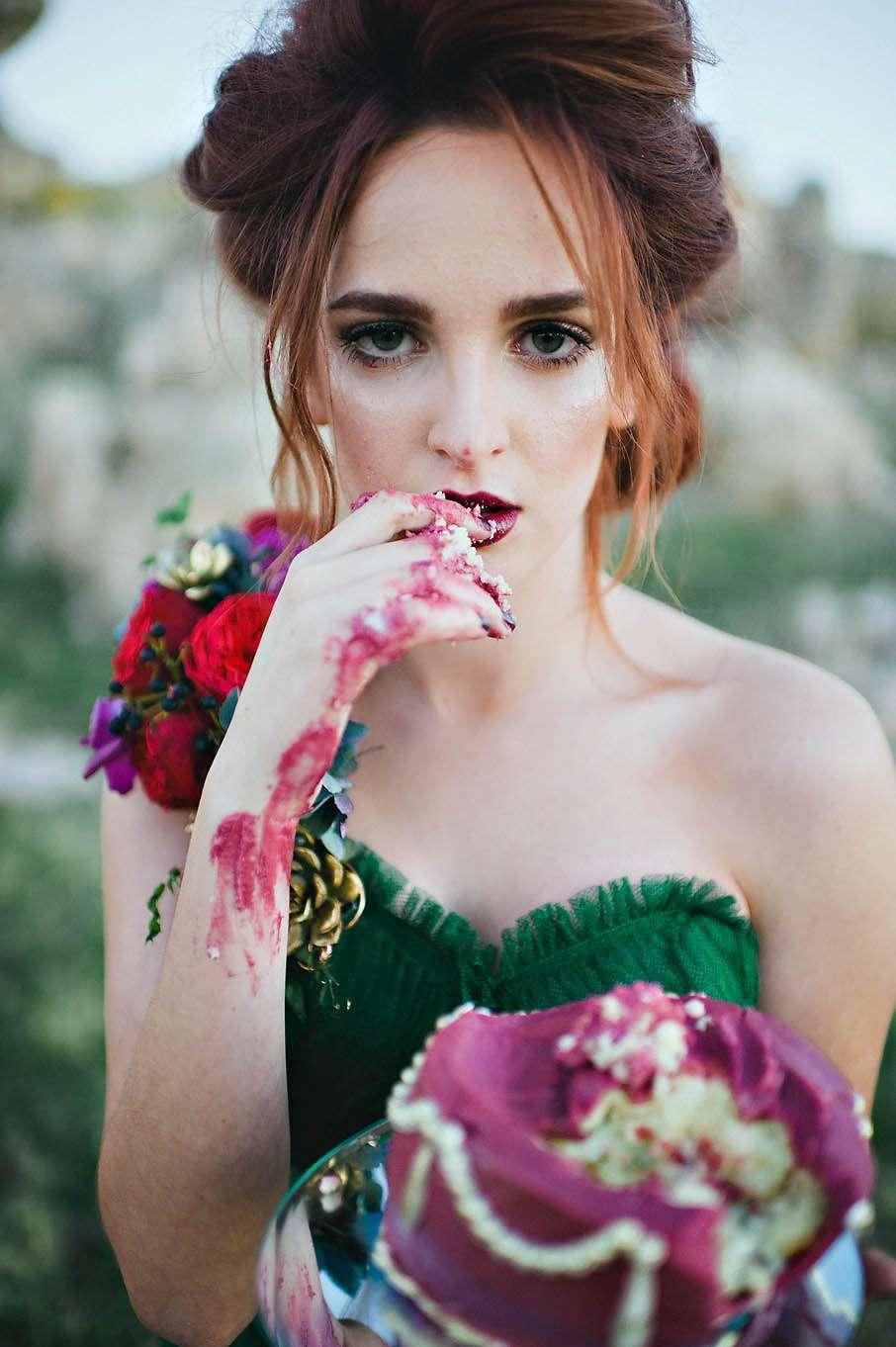 blushphotographyletthemeatcake80 183 rock n roll bride