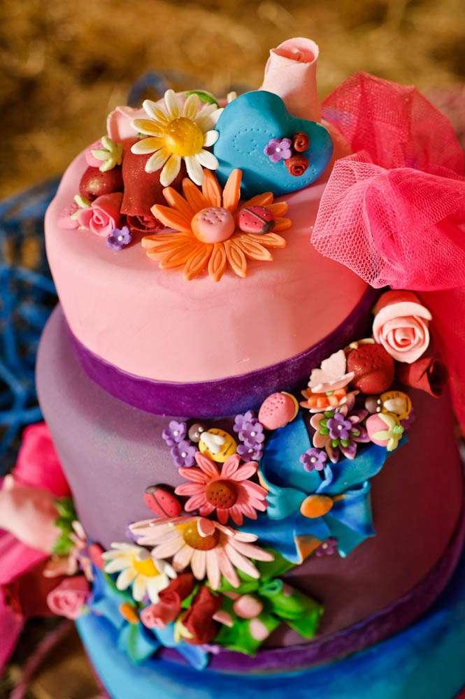 Rainbow Wedding Cakes 43 Vintage Tattooed Bride Styled shoot