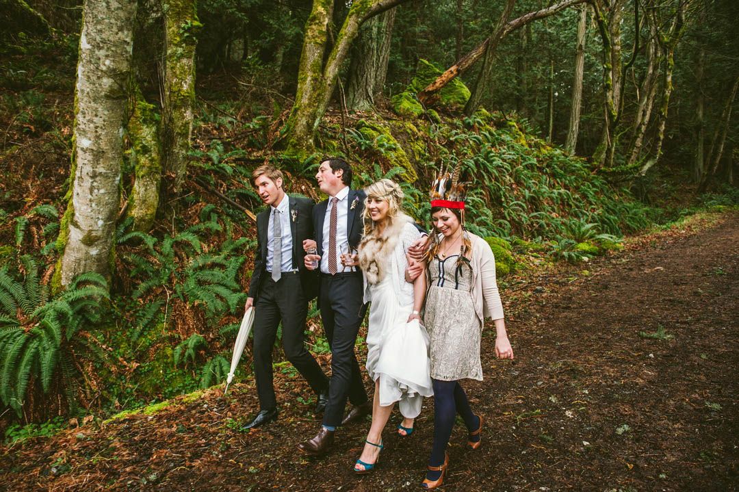 39 Rustic Forest Wedding In Orcas Island Washington Usa