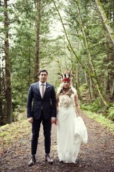 46 Rustic Forest Wedding in Orcas Island, Washington, USA – © Dallas Kolotylo Photography