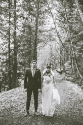 47 Rustic Forest Wedding in Orcas Island, Washington, USA – © Dallas Kolotylo Photography