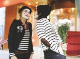 Mimes at the Circus Engagement Shoot by Brosnan Photographic (11)