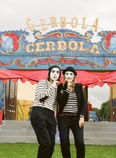 Mimes at the Circus Engagement Shoot by Brosnan Photographic