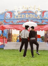 Mimes at the Circus Engagement Shoot by Brosnan Photographic (2)