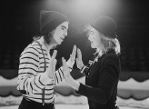 Mimes at the Circus Engagement Shoot by Brosnan Photographic (38)