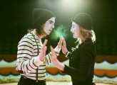 Mimes at the Circus Engagement Shoot by Brosnan Photographic (39)