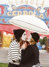 Mimes at the Circus Engagement Shoot by Brosnan Photographic (4)