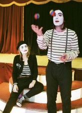 Mimes at the Circus Engagement Shoot by Brosnan Photographic (44)
