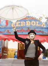 Mimes at the Circus Engagement Shoot by Brosnan Photographic (8)