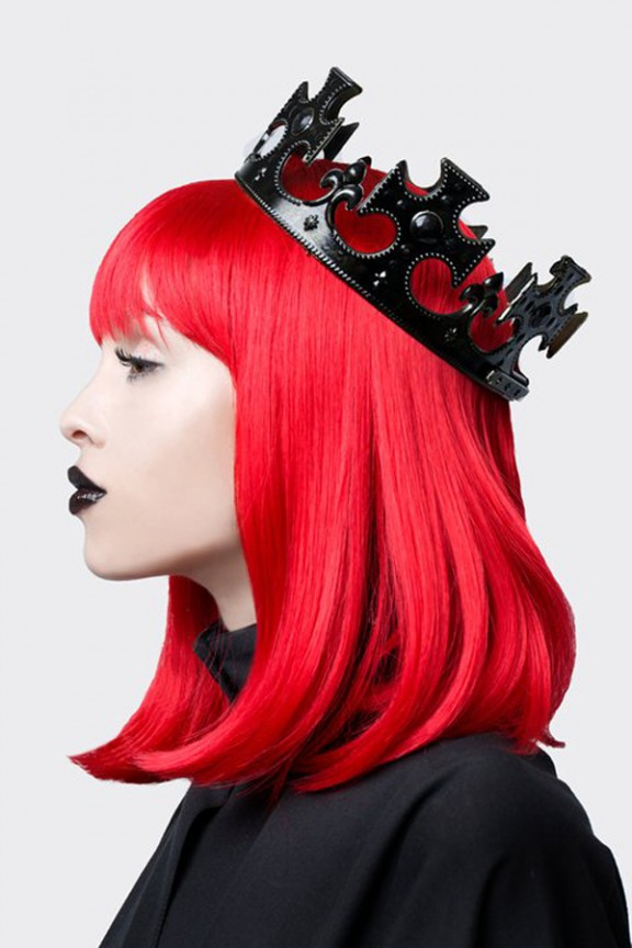 red hair crown