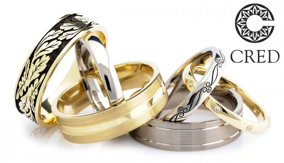 CRED Wedding Rings logo