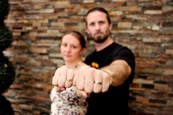 Ethical Fairtrade Wedding Rings from CRED Jewellery Rock n Roll