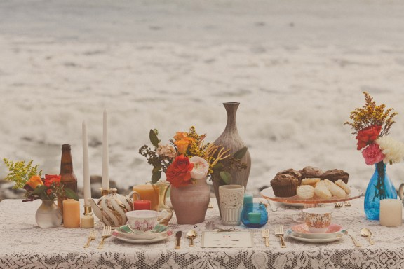 Bohemian Beach Tea Party · Rock n Roll Bride
