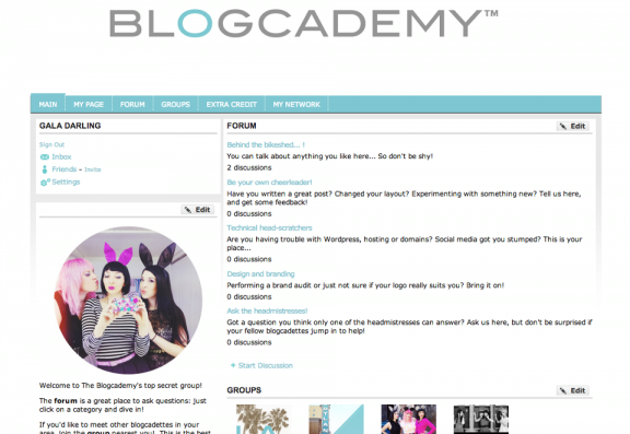 blogcademy forum