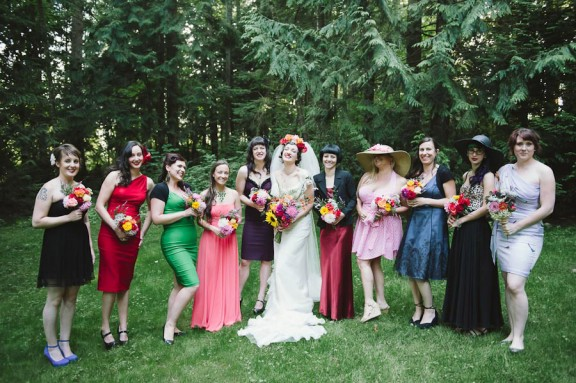 eccentric vintage rainbow wedding_sharalee prang photography-159