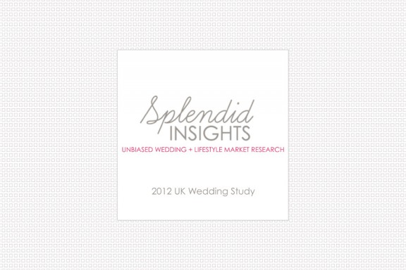2012 UK Wedding Market Study from Splendid Insights