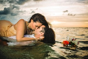 Intimate Wedding in the Middle of the Ocean: Thomas & Kimberly