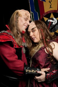 Klingon & Star Trek Wedding: Christine & Charles