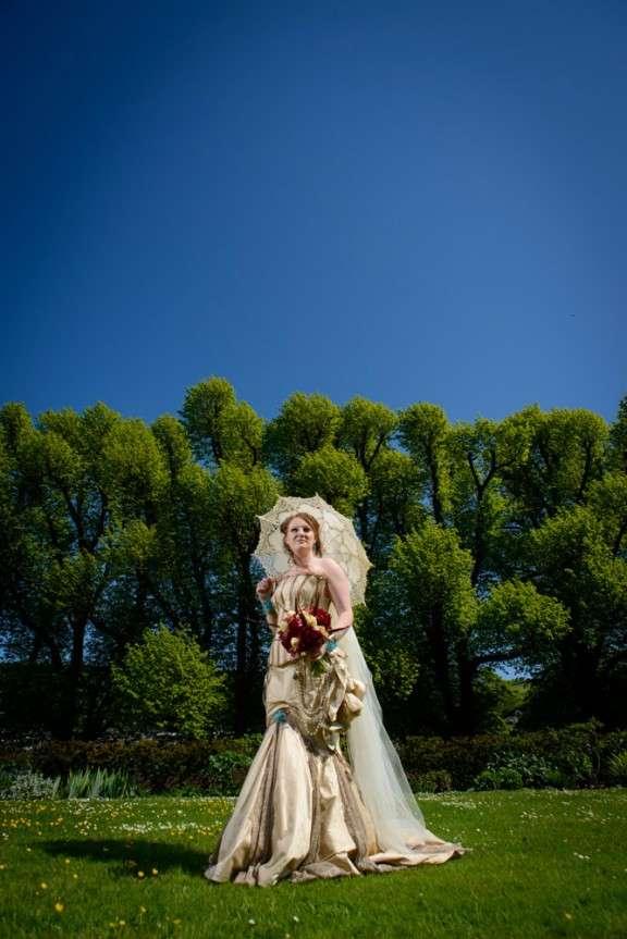 Curiosity & Steampunk Wedding: Amy & Adam · Rock n Roll Bride