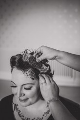 Vintage Vegan Tattoo Welsh Wedding – Toast of Leeds Wedding Photography-27