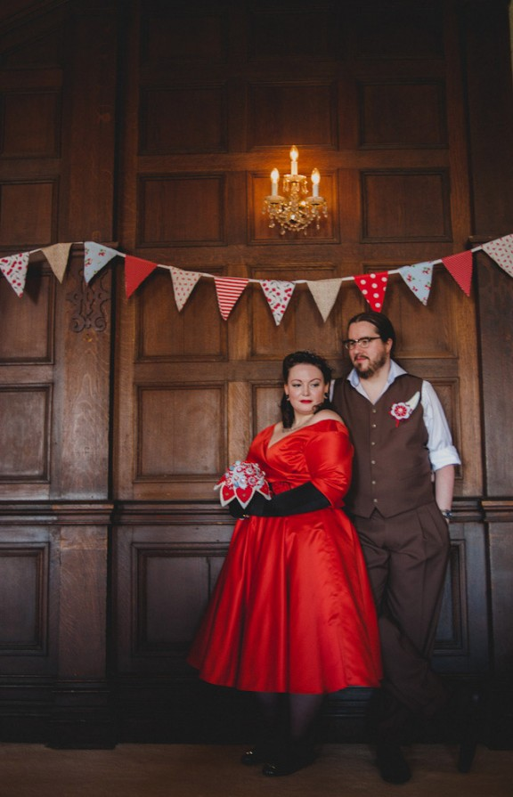 Vintage Vegan Tattoo Welsh Wedding - Toast of Leeds Wedding Photography-64