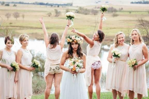 Fun South African Farm Wedding Lauren Mike Rock N Roll Bride