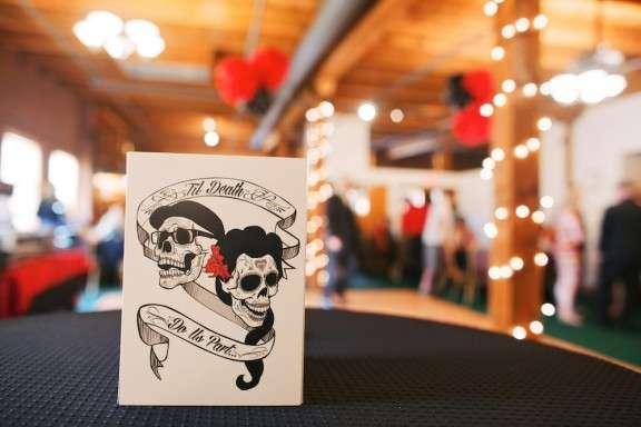 Day of the Dead Nebraska Wedding: Jessie & Joby ? Rock n Roll Bride
