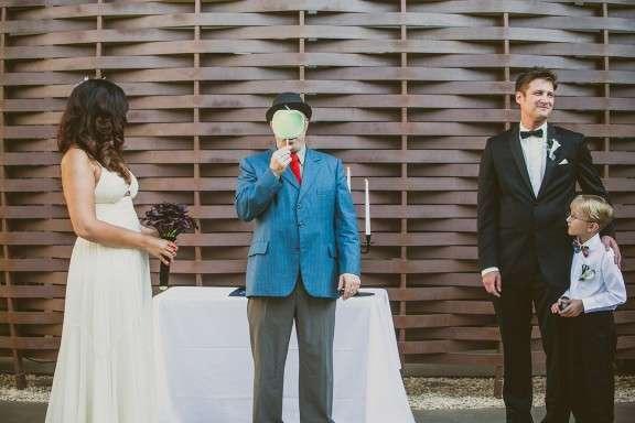 Salvador Dali Inspired Surrealist Wedding: Demi & Steven · Rock n Roll Bride