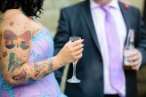 Rock and Roll Bride Candy Coloured tattooed rocker bride Tux and Tales Photography_3971