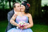Rock and Roll Bride Candy Coloured tattooed rocker bride Tux and Tales Photography_4027