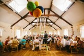 Abby & Liam Village Hall Colourful Wedding – Miki Photography-140