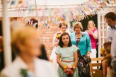Abby & Liam Village Hall Colourful Wedding – Miki Photography-17