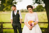 Abby & Liam Village Hall Colourful Wedding – Miki Photography-170