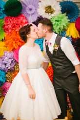 Abby & Liam Village Hall Colourful Wedding – Miki Photography-47