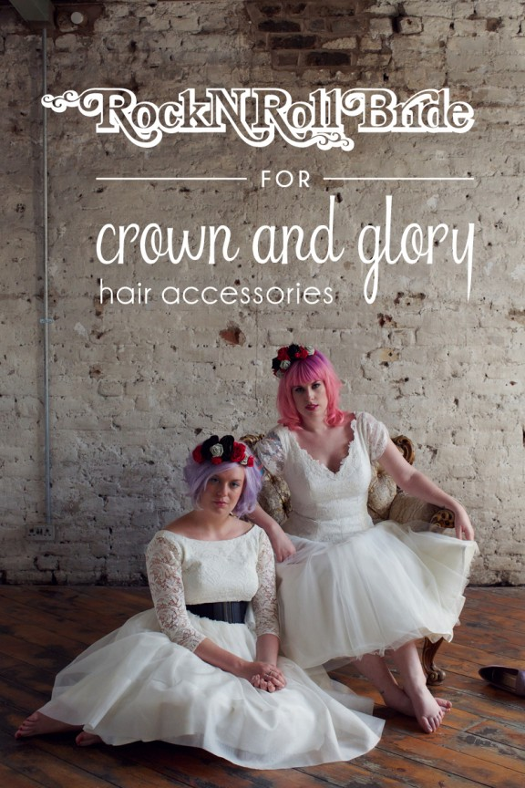 Crown & Glory Rock n Roll Bride Collection header