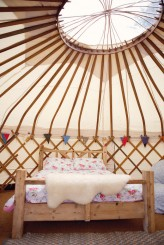 Lydia Stamps Photography Quirky DIY Yurt Wedding  486