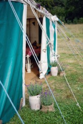 Lydia Stamps Photography Quirky DIY Yurt Wedding  492
