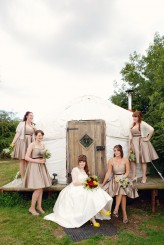 Lydia Stamps Photography Quirky DIY Yurt Wedding  569