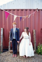 Lydia Stamps Photography Quirky DIY Yurt Wedding  881