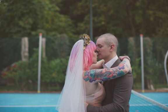 Rock n Roll Bride Wedding | Lisa Devlin